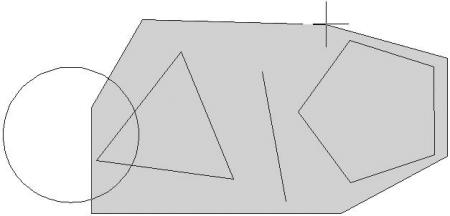 Способы выделения объектов в AutoCad