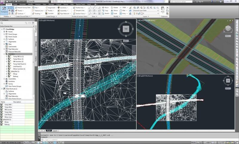 AutoCAD Civil 3D 2010 — рис. 1