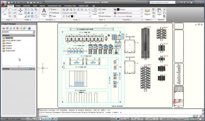 AutoCAD Electrical 2009 — рис. 1