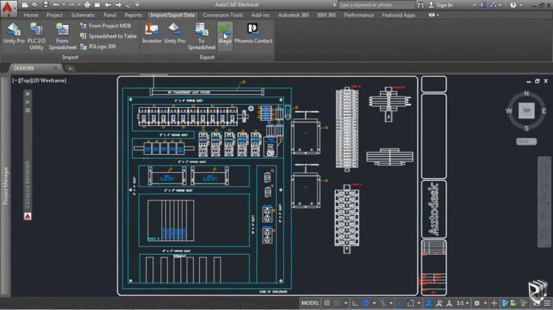 AutoCAD Electrical 2015 — рис. 1