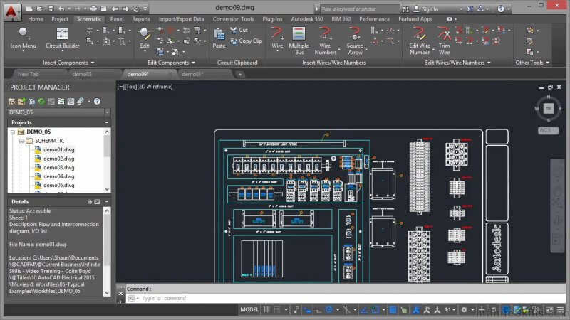 AutoCAD Electrical 2015 — рис. 2