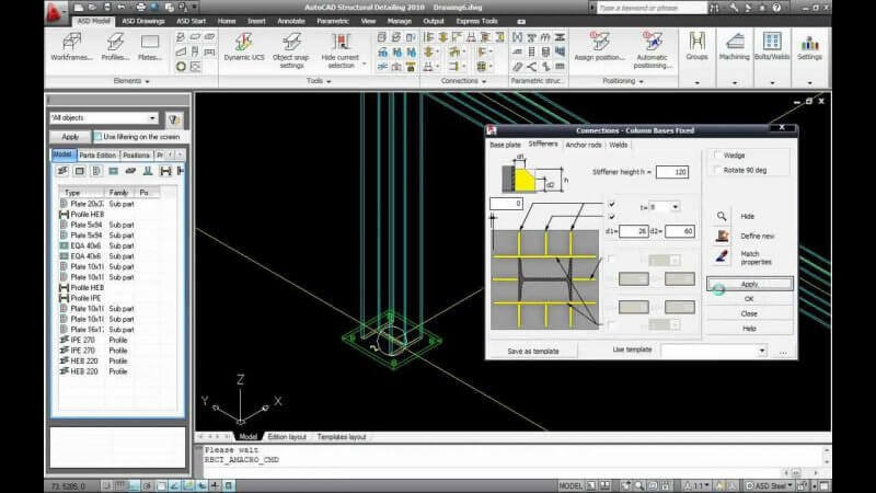 AutoCAD Structural Detailing 2010 — рис. 2