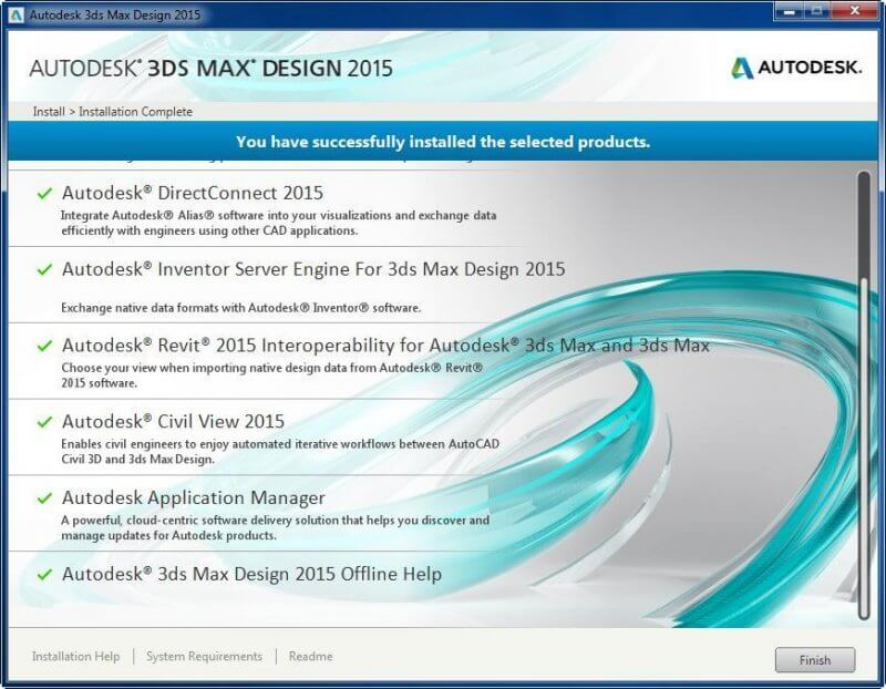 Autodesk 3ds Max Design 2015 — рис. 1