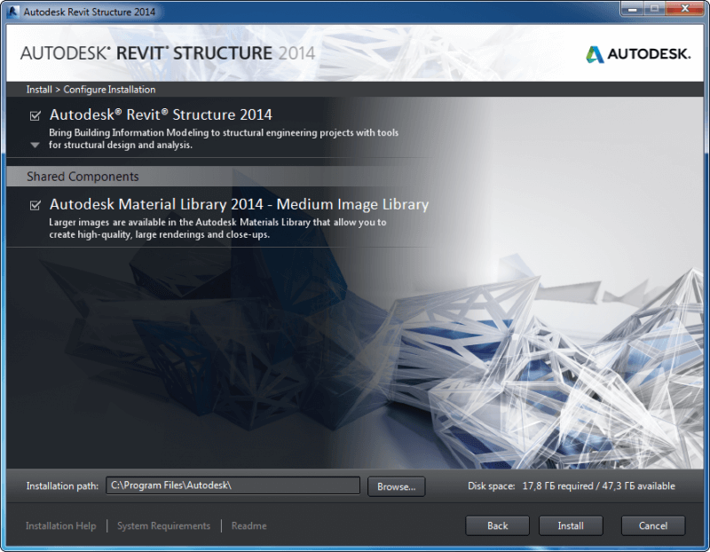 Autodesk Revit Structure 2014 — рис. 1